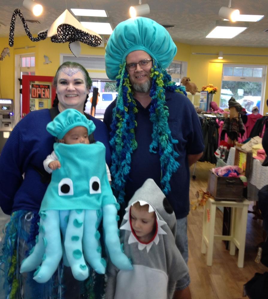 15 Halloween Sea Life